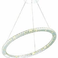 Frederique - Hanging Fixture (32 Light Contemporary Hanging Crystal Chandelier) - 1756D32