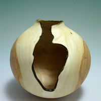 Cavernous Remains Elm Vessel by makye77 on Etsy