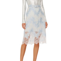 High Waisted Lace Skirt | Moda Operandi