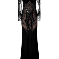 Zuhair Murad - Lace Detailed Gown