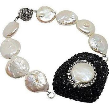 Coin Pearls Bracelet