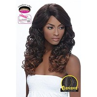 LACE FRONT WIG LONG CURLY, BANANA SHAPE PART (LBP04)