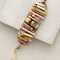 Ancient Roads Bracelet by Anthropologie in Bronze Size: One Size Bracelets