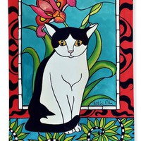 Pretty Me In Tuxedo Beach Towel for Sale by Dora Hathazi Mendes