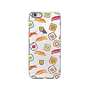 Cute Sushi Pattern Transparent Silicone Plastic Phone Case for iphone 6PLUS _ LOKIshop (iphone 6 plus)