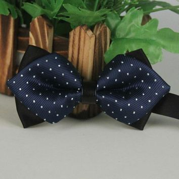 Bowtie For Men Wedding Dots Tie Banquet Floral Bow Ties For Men Suit Gravata Gift