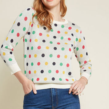 Daily Delights Pullover Sweater