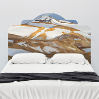 Paul Moore's Kerlingarfjoll, Iceland Headboard wall decal
