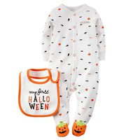 Carter's ''My First Halloween'' Sleep & Play - Baby Neutral, Size:
