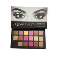 New Arrival 18 Colors Huda Beauty Eyeshadow Rose Gold Textured Pallete Makeup Eyeshadow Palette