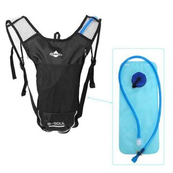 ICIK7N3 B-SOUL 5L Hydration Water Bag Backpack + 2L Water Bag Running Outdoor Sports Cycling Bike Bags Camelback Water Bladder Container