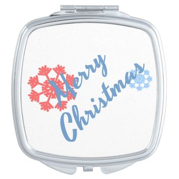 Merry Christmas Makeup Mirror