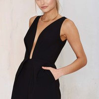 Finders KeepersThe Creator Romper - Black