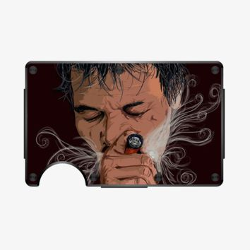 Addiction kills one pain to create another!, Aathira Mohan Aluminum Wallet