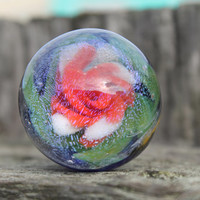 Inter dimensional Flower Implosion GALAXY Dichroic marble Vortex backed Supreme Limited Edition JKLD PACIFICNWGLASS