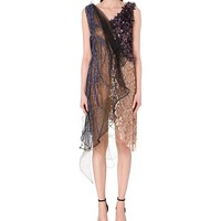 RODARTE - Embellished netting dress | Selfridges.com