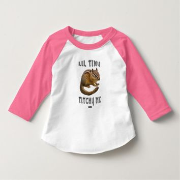 Lil Tiny Toddler Design by Kat Worth T-Shirt