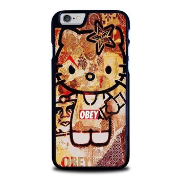 obey hello kitty iphone 6 6s case cover  number 1