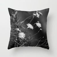 Night Song Throw Pillow by Loredana