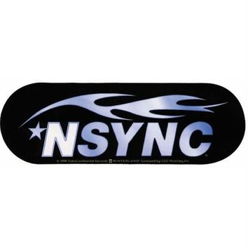 Nsync Logo Decal