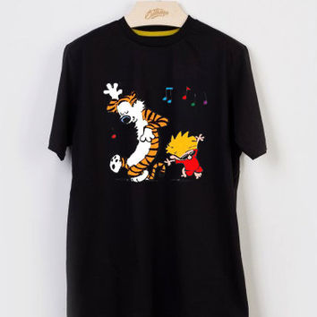 calvin and hobbes sing song T-shirt Men, Women and Youth