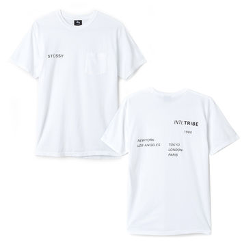 Stussy: Zine Pocket Shirt - White