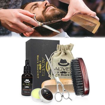 Beard Care Grooming Trimming Kit for Shaping Growth Beard Care