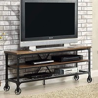 "Ventura Ii Industrial 72"" Tv Stand By Furniture Of America"
