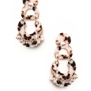 Spotted Statement Earrings