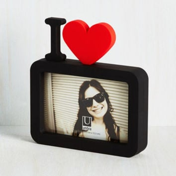 80s Close-up to Heart Photo Frame by ModCloth