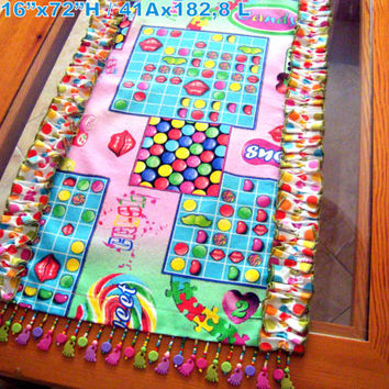 Candy Spot 16x72 table runner –  Ruffle kids party décor