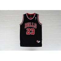 NBA Jersey Chicago Bulls #23 Jordan  Black  Jersey
