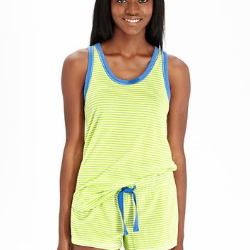 Old Navy Womens Striped Tanks