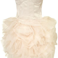Corset Ballerina Dress by Opulence** - Dresses  - Clothing  - Topshop
