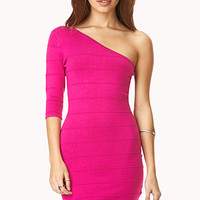 Angular Bodycon Dress