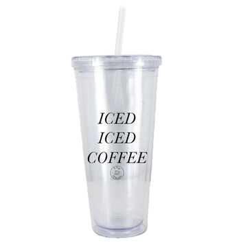 Iced Iced Coffee Water Bottle
