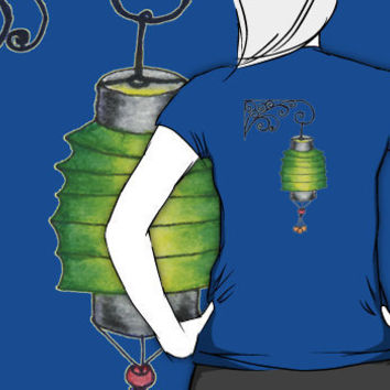 """""""Paper Lantern 2"""" T-Shirts & Hoodies by Amy-Elyse Neer 