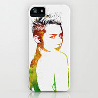 Miley Cyrus iPhone & iPod Case by Greg21