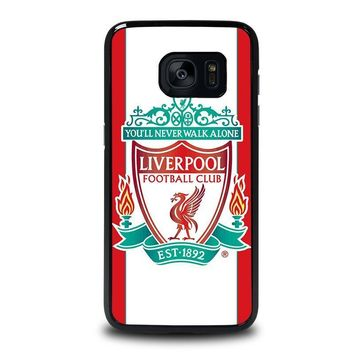 liverpool fc samsung galaxy s7 edge case cover  number 1