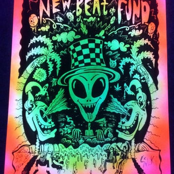 Limited Edition California Alienz Blacklight Dopester (Autographed)