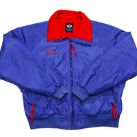 Vintage 90s Purple/Red Columbia Skiing/Snowboarding Jacket Mens Size Large