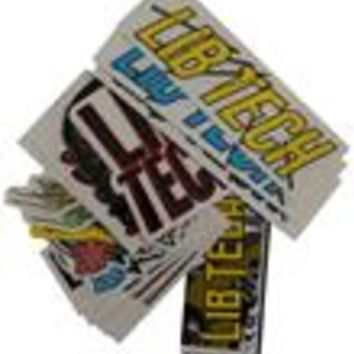 Lib Tech Small 25pk Stickers