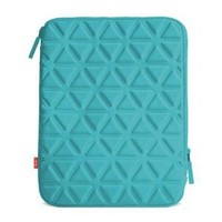 iLuv Foam-Padded Neoprene Case for Apple iPad 4, iPad 3rd Generation and iPad 2 - Teal (iCC2011TEL)