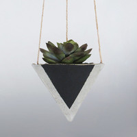 Air Planter, Hanging Planter, Succulent Planter, Concrete Planter, Geometric Planter, Mini Planter, Modern Planter, Indoor Planter, Black