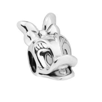Fits for Pandora Bracelets Daisy Duck Portrait Beads 100% 925 Sterling Silver Charms
