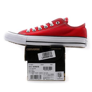 Red Original Converse All Star  Canvas Shoes