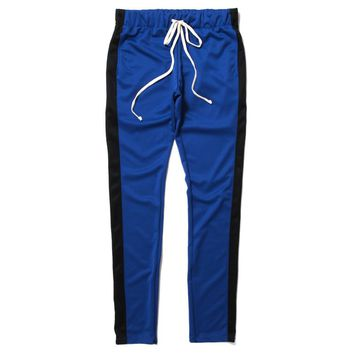 Track Pants Blue / Black