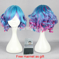 30cm Japanese harajuku cosplay lolita wigs for women new sweet lolita wigs short culry ombre anime costume lolita wigs wholesale-in Wigs from Beauty & Health on Aliexpress.com | Alibaba Group