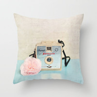 Imperial Satellite Throw Pillow by Sylvia Cook Photography