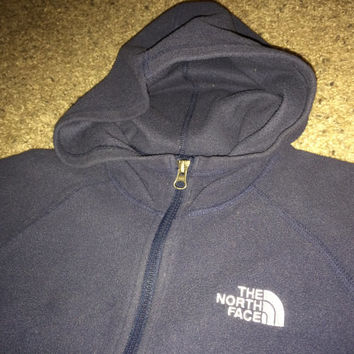 Sale!! Vintage THE NORTH FACE casual hooded jacket youth coats
